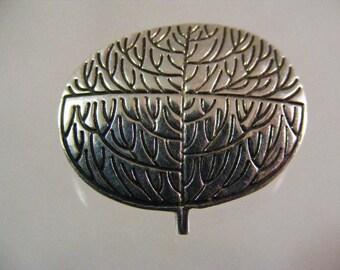 Vintage Tree of Life Sterilng Silver Pin Pendant.....  Lot 5248