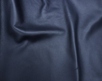 """Leather 12""""x12"""" KING Catalina Navy Blue full grain Pebbled Buttery Soft Cowhide 3-3.5oz/1.2-1.4mm PeggySueAlso™ E2881-01"""