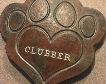 Large Pet Memorial, Shipping Included, Solid Stone