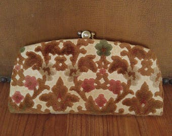 50s tapestry purse by Baronet