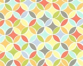 SHOP CLOSING SALE Michael Miller fabric for quilt or craft Tile Pile Multi Half Yard