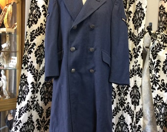 USAF Airman 1950's Trench Coat