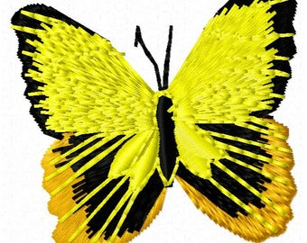 Butterfly Embroidery Design - Instant Download
