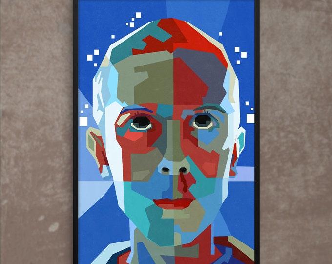 Stranger Things' Eleven Poster or Framed Print, WPAP