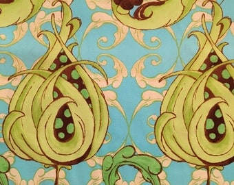 1 yard Cotton Quilting Fabric: Tree Top Fancy by Tina Givens