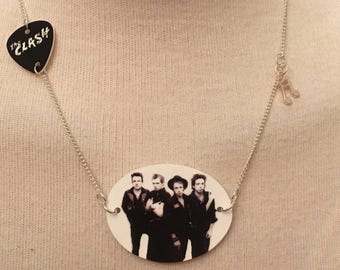 Silver Plated Handmade The Clash Necklace