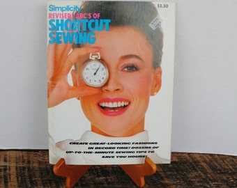 1984 Simplicity Revised ABC'S of Shortcut Sewing