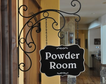 Powder Room Sign,Laundry Room Sign,Birthday Gift for Her,Laundry Room Decor,Kitchen Sign,Powder Room Decor,Kitchen Signs, Christmas Gift,