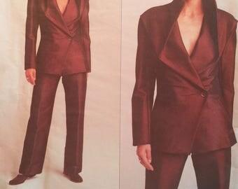 Vogue Designer Original 2687 Issey Miyake Sewing Pattern Misses Jacket and Pants FF Sizes 18, 20, 22