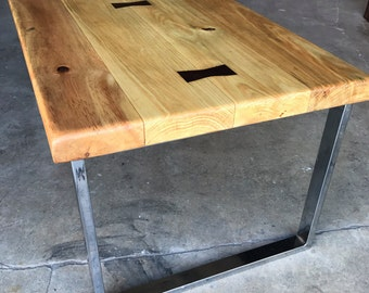 SALE! Hand joined wood coffee table