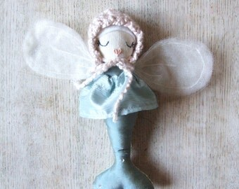 Mermaid Doll Gem Pixie Collection Handmade Toy