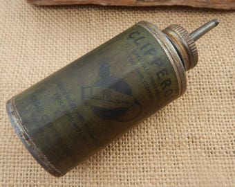 Andis Clipper Company Clipper Oil Can  ~  Vintage Clipper Oil Can  ~  Andis Clipper Oil Can