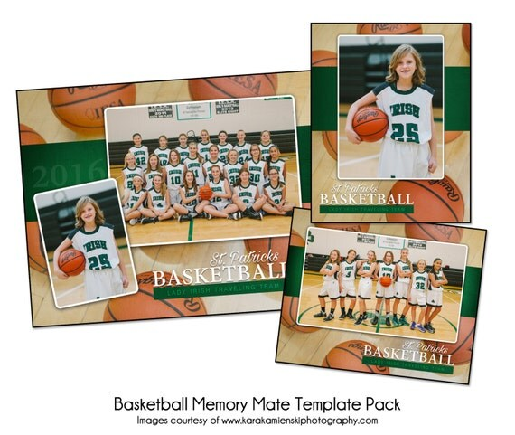basketball pack g sports memory mate photo templates digital files only from katieanndesigns. Black Bedroom Furniture Sets. Home Design Ideas