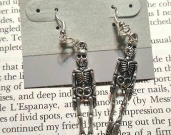 Spoopy Skeleton Earrings
