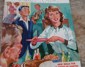Vintage Recipe Booklet - How to be the Hostess with the Mostest - Jane Wilson Kitchens