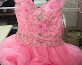 3T Perfect Angels Cupcake Pink Pageant Dress NEW old stock