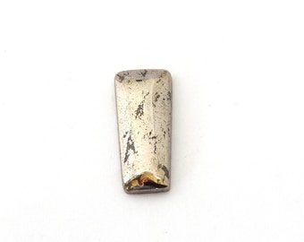 RESERVED for SABINE DEISEN Shimmering Native Silver Designer Cabochon Gemstone 11.7x26.4x4.0 mm 30.3 ct Free Shipping