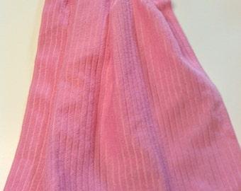 Pink Hanging Towel