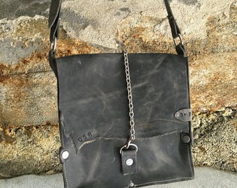 Leather Satchel, Crossbody Purse, Leather Purse, Leather Satchel
