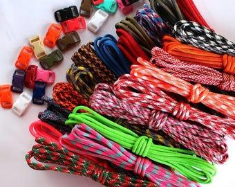 Paracord Bracelet Kits - Variety
