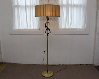 Mid Century Modern Rembrandt Gazelle floor lamp
