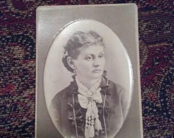 Antique Photograph Woman Lady