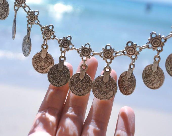 Boho anklet, bohemian anklet, silver anklet, pendant anklet, boho silver anklet, anklet for women, anklet for summer, jewelry for women,gift