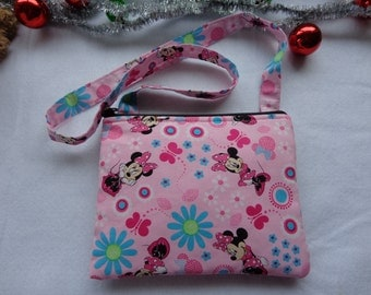 Kid's Crossbody Bag:Minnie Mouse