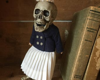 Art doll skeleton and vintage doll parts