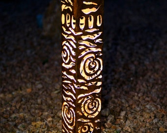 Hundertwasser Accent Bollard Solar Light