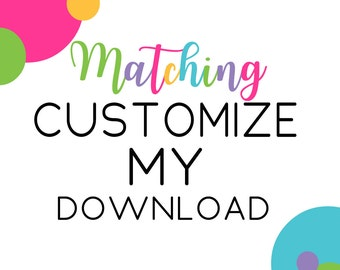 Customize Instant Download Coordinates, Baby Shower Banner, Favor Tags, Party Games, Insert Cards, Personalized Digital Media, (CUSTOMADDON)