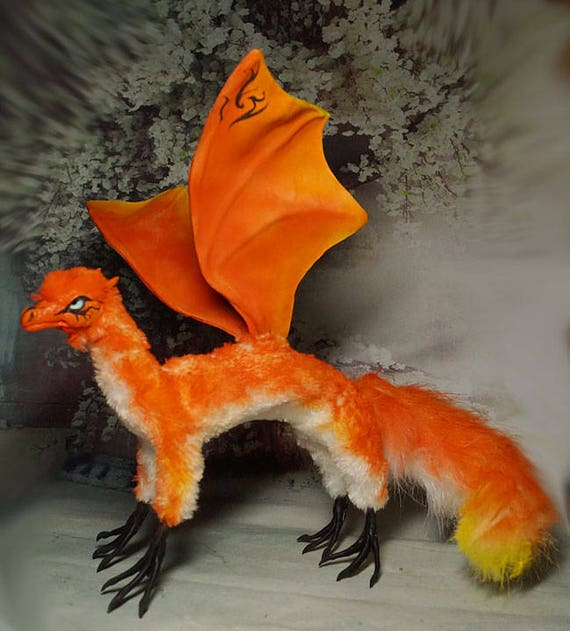 For Sale/Auction: - Dragon Fox Loki poseable toy | Fur
