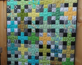 Scrappy Plus Lap Quilt
