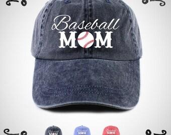 Baseball Mom Hat, Baseball Mom Cap, Baseball Mom, Baseball Hat, Baseball Cap,