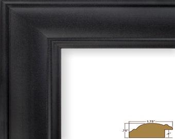 Craig Frames, 16x20 Inch Satin Black Picture Frame, Dakota 1.75-Inch Wide (226037041620)