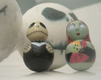 JACKBOMS - Bath Bomb with Jack Skellington figure inside