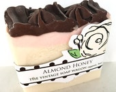 Almond Honey Handmade Soap with Cocoa Butter