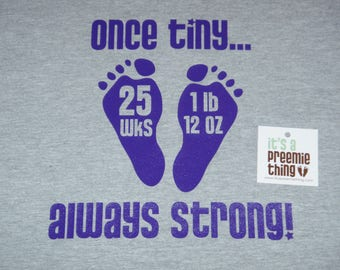 Once Tiny... Always Strong!