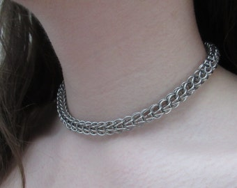 """Stainless steel """"Full Persian"""" necklace"""