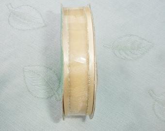 Metallic Golden Ribbon - 7/8 inch