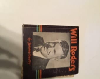 will rogers hardcover book 1935 jeremy beatty saalfield