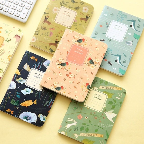 Floral Traveler's Notebook Journal Notes Cover Travel Diary Sketchbook Planner Insert Notebook