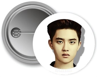 EXO D.O Pinback Buttons (Made to Order)