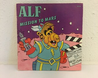 Vintage Book, Alf: Mission to Mars, 1980s Television Book