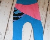 Going out of business Girls pants, Zane Joggers, 18 months girls  leggings Girls winter clothing Bumstoppers  Pink Zebra Animal Blue Mix n M