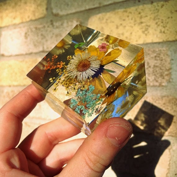 2X2 Square Paperweight