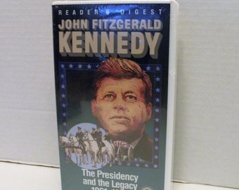 John Fitgerald  Kennedy The Presidency and the Legacy  1961-1963 Readers Digest VHS Video Tape New Factory Sealed Clam Shell