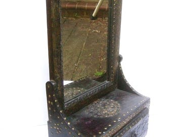 Unique Wood Vanity Mirror Cabinet