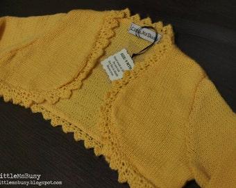 Sweet Keira Baby Bolero Size 0