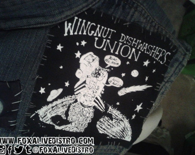 Wingnut Dishwashers Union (Misprint) Patch